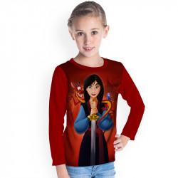 Детска блуза за момиче Мулан