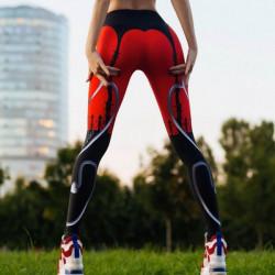 Дамски спортен клин - стягащ и повдигащ ефект Diablo