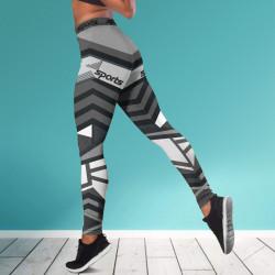 Дамски спортен клин - стягащ и повдигащ ефект ''LINES''