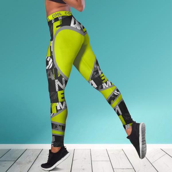Дамски спортен клин - стягащ и повдигащ ефект COOL