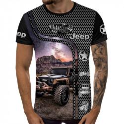 Мъжка спортна тениска 3D JEEP