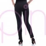 Ватиран дамски спортен панталон (Черен)