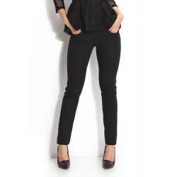 Дамски спортно-елегантен черен панталон