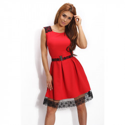 Червена изкусителна рокля