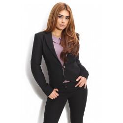 Черно сако с дълъг ръкав