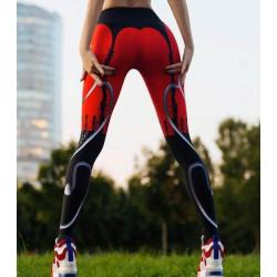 Дамски спортен клин - стягащ и повдигащ ефект ''Devil''