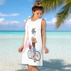 Лятна дамска рокля Happy Summer 7152-6796