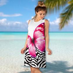 Лятна дамска рокля Happy Summer 7150-6798