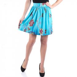 Ефирна дамска пола с цветен принт ''Rubin''