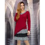 Free style дамска рокля в бордо