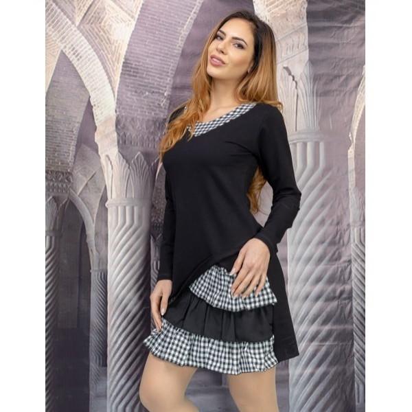 Free style дамска рокля в черно