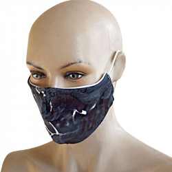 Трипластова  маска за лице с моден дизайн Blaze