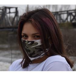 Трипластова камуфлажна маска за лице с моден дизайн