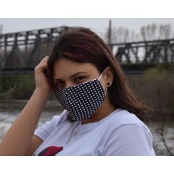 Трипластова маска за лице с моден дизайн Пипит