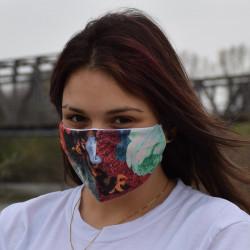 Трипластова маска за лице с моден дизайн Flo