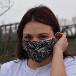 Трипластова маска за лице с моден дизайн Dazy
