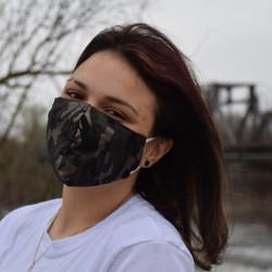 Трипластова маска за лице с моден дизайн Selena