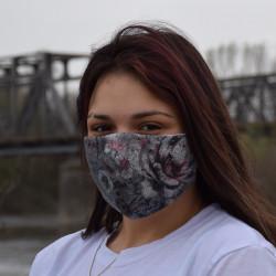 Трипластова маска за лице с моден дизайн Melinda