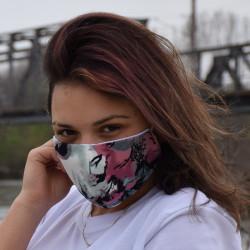 Трипластова маска за лице с моден дизайн Merilyn