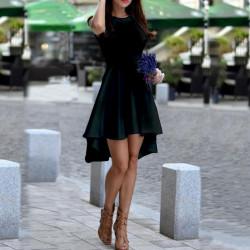 Дамска рокля Даяна в черен цвят
