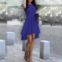 Дамска рокля Даяна в цвят индиго