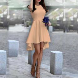 Дамска рокля Даяна в цвят екрю