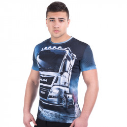 Мъжка спортна тениска 3D ''Man''