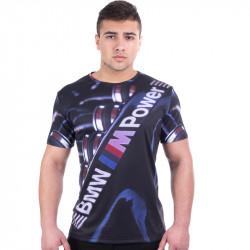 Мъжка спортна тениска 3D ''M Power''