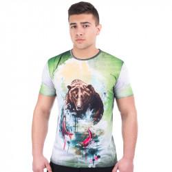 Мъжка спортна тениска 3D ''The Bear''