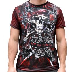 Мъжка спортна тениска 3D ''Skeleton''