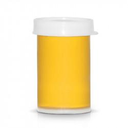 Акрилна боя за декорация на маникюр и педикюр - Тъмно жълт (20 мл)