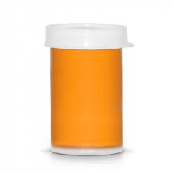 Акрилна боя за декорация на маникюр и педикюр - Светло оранжев (20 мл)