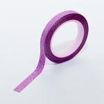 Самозалепващо фолио за декорация на нокти с пясъчен ефект в лилаво