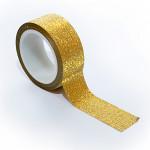 3D Широко самозалепващо фолио за декорация на нокти златисто