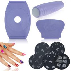 Комплект печати за декорация на нокти от BeautyNail Art