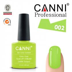 CANNI uv/led soak off цветен гел лак за нокти 002