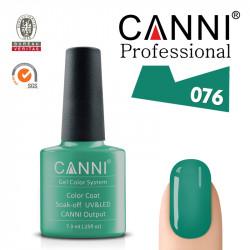 CANNI uv/led soak off цветен гел лак за нокти 076