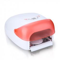 Професионална дигитална UV лампа за маникюр с вентилатор и таймер 5 сек.- 5 минути - 36 W