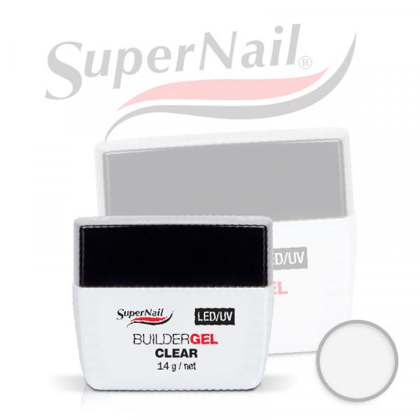 Професионален изграждащ uv/led гел Super Nail - Clear (14 гр.)