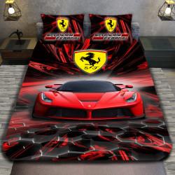 3D луксозен спален комплект Ferrari