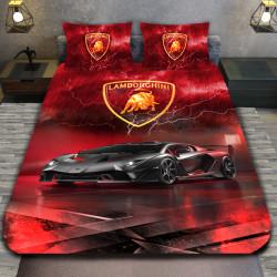 3D луксозен спален комплект LAMBORGINI