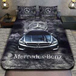 3D луксозен спален комплект Mercedes