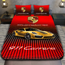 3D луксозен спален комплект Porshe