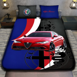3D луксозен спален комплект Alfa Romeo