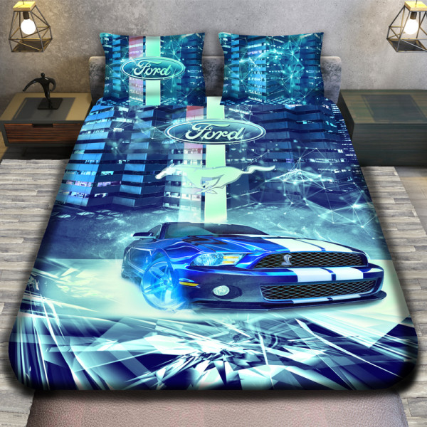 3D луксозен спален комплект Ford Rally