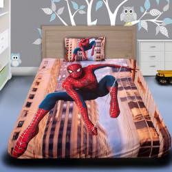 3D луксозен детски спален комплект Spiderman 1