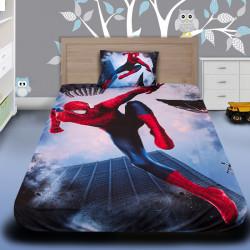 3D луксозен детски спален комплект Spiderman 2