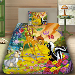 3D луксозен детски спален комплект 6963