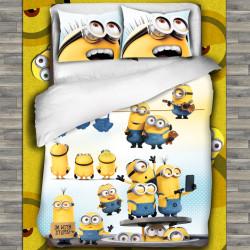 3D луксозен спален комплект ''Minions''