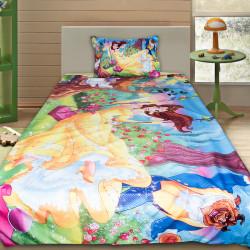 3D луксозен детски спален комплект Красавицата и Звярът 2